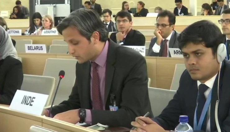 UNHRC में भारत का जवाब- दुनिया को बेवकूफ नहीं बनाया जा सकता, पाकिस्तान का हिंसा भरा रिकॉर्ड अपने आप में बोलता है