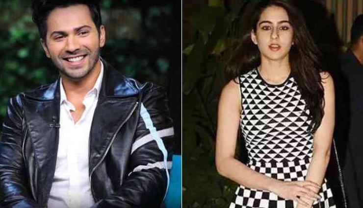 Varun Dhawan and Sara Ali Khan Might come together for Govinda starrer Coolie No. 1 remake