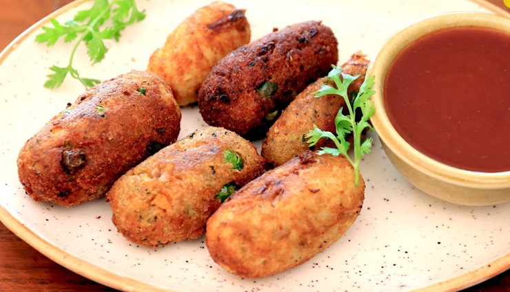 Recipe- Potato and Vegetable Cutlets