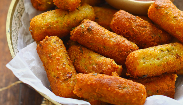 potato and vegetable cutlets,cutlets,vegetable recipe,snacks recipe