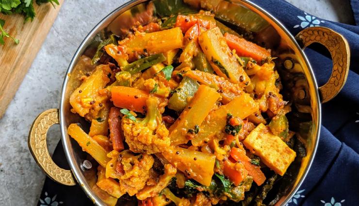 vegetable jalfrezi,main course recipe,recipe