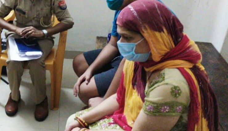 16 घंटे बाद विकास दुबे की पत्नी और नाबालिग बेटे को पुलिस ने छोड़ा