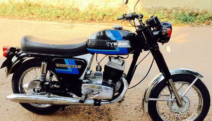 Top 5 Vintages Bikes of India