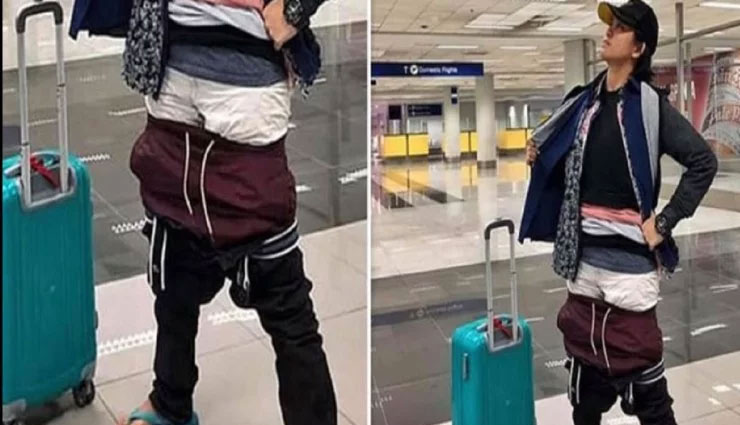 एयरपोर्ट पर महिला ने कर डाली ऐसी हरकत, सोशल मीडिया पर हुई वायरल
