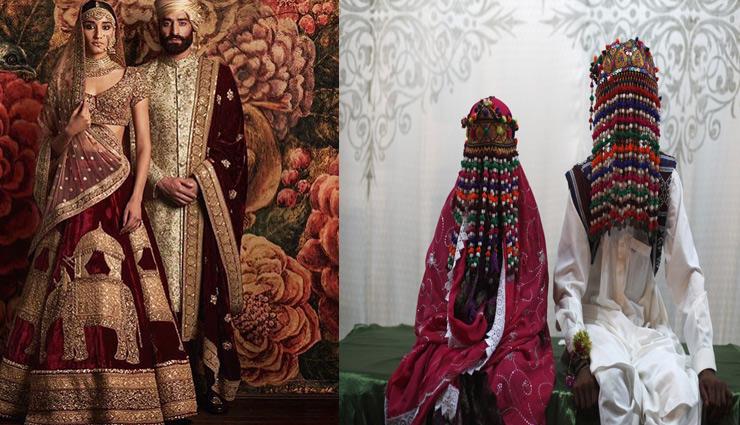 different wedding attires,wedding attires,wedding around the world ,फैशन टिप्स, फैशन टिप्स हिंदी में, दूल्हा-दुल्हन का पहनावा, विदेशों में शादी का पहनावा