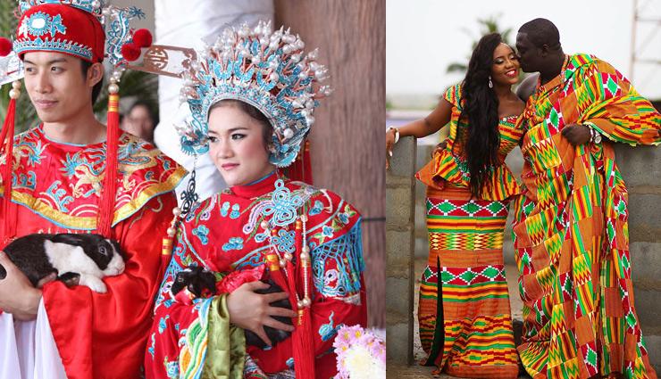 दूल्हा-दुल्हन का पहनावा बनता है शादी का आकर्षण, जानें देश-विदेश में कैसा रहता है यह