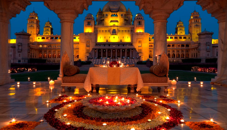 5 Best Places For Destination Wedding in India