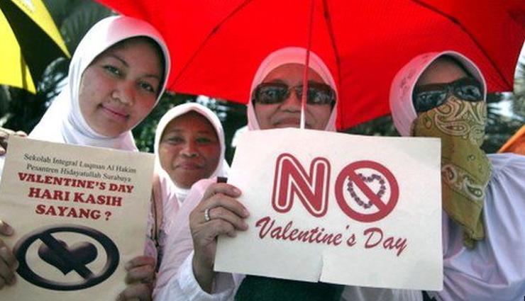 सऊदी अरब में वैलेंटाइन मनाने पर है रोक, जानें विदेशों के ऐसे कई अनोखे कानून