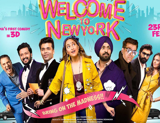 The Star Studded 'Welcome To New York' Poster is OUT!