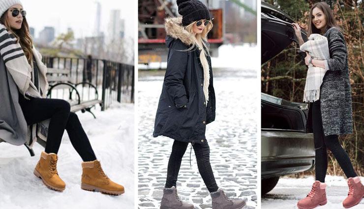 wear boots in winters,fashion tips,boots fashion,trendy boots,stylish boots,fashion tips ,बूट्स, फैशन टिप्स, सर्दियों में पहने बूट्स