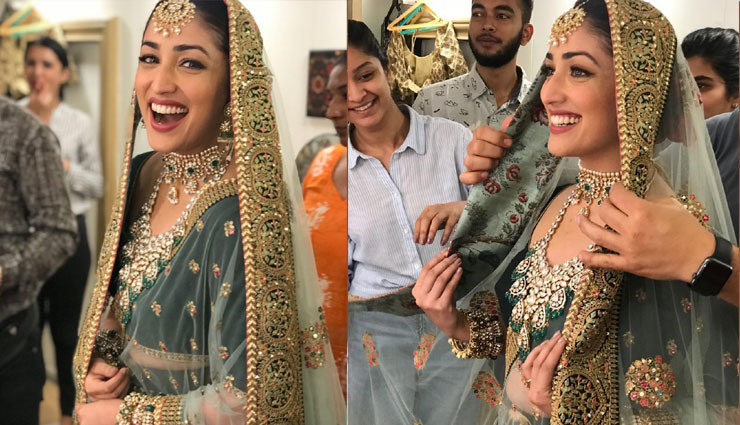 Is this Yami Gautam's look from her next with Vikrant Massey?