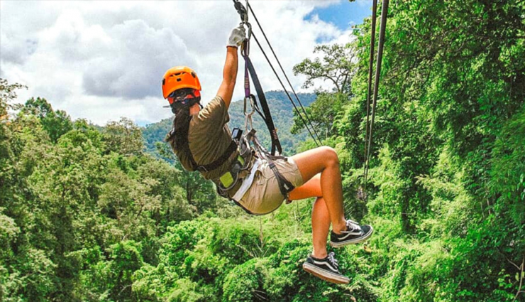 5 Most Popular Places To Enjoy Ziplines in India