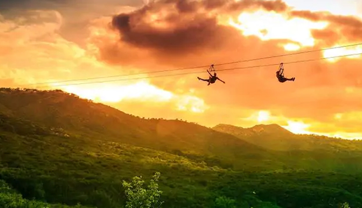 ziplines in india,places to enjoy ziplines in india,travel,india