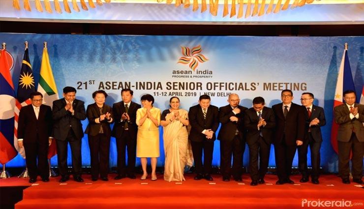 नई दिल्ली में आयोजित की गई 21 वीं आसियान-भारत दो दिवसीय बैठक, मुख्य मुद्दा समुद्री क्षेत्र में कनेक्टिविटी की बेहतरी