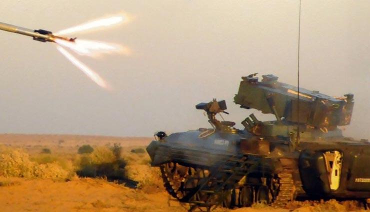 राजस्थान के पोखरण में किया गया एंटी टैंक गाइडेड मिसाइल 'नाग' का सफल परीक्षण, जल्द होगी भारतीय सेना में शामिल