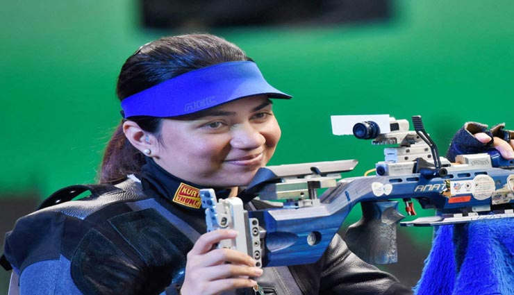 ISSF विश्व कप की 10 मीटर एयर राइफल में अपूर्वी चंदेला ने स्वर्ण पदक किया अपने नाम