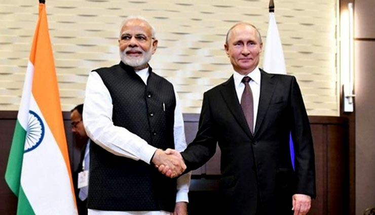रूस के सर्वोच्च राज्य सम्मान से सम्मानित हुए प्रधानमंत्री नरेंद्र मोदी