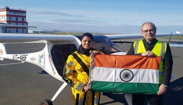 अटलांटिक महासागर को पार करने वाली दुनिया की पहली महिला बनी मुंबई की कैप्टन आरोही पंडित