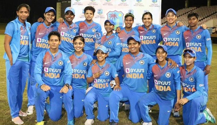 भारतीय महिला क्रिकेट टीम ने वेस्टइंडीज को पांच मैच की टी-20 श्रृंखला में किया क्लीन स्वीप