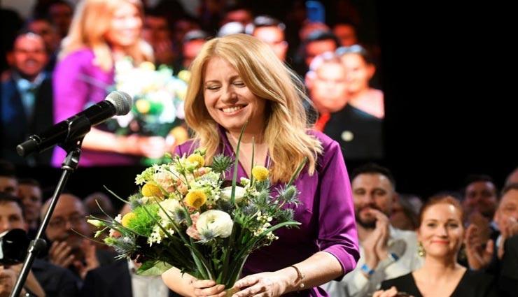 स्लोवाकिया की पहली महिला राष्ट्रपति बनी ज़ुजाना कैपटोवा
