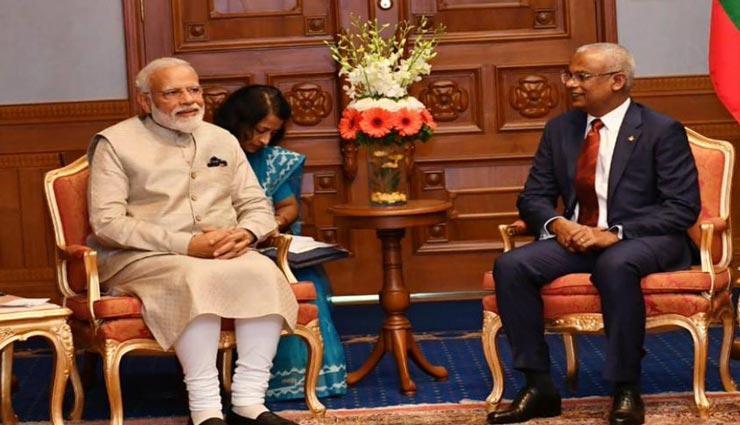 मालदीव के सर्वोच्च सम्मान 'निशान इजुद्दीन' से नवाजे जाएंगे प्रधानमंत्री मोदी