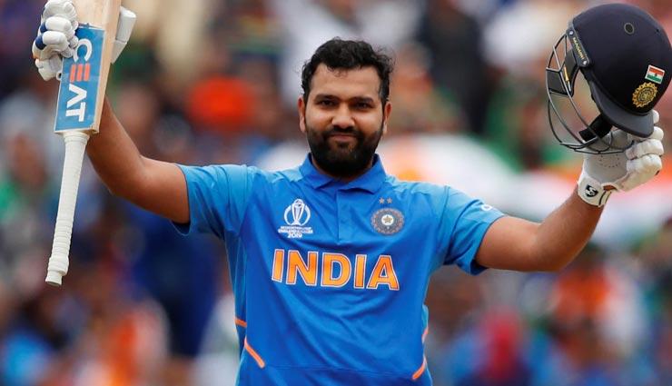 रोहित शर्मा ने क्रिकेट विश्वकप 2019 में रचा इतिहास, एक नहीं कई रिकॉर्डस किए अपने नाम