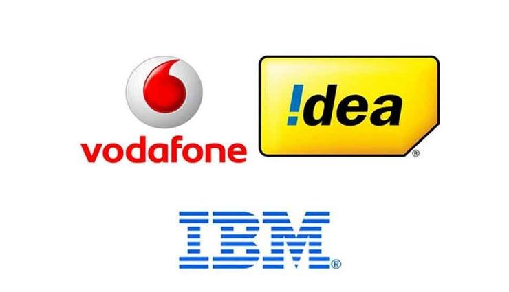 वोडाफोन और आइडिया ने मिलकर आईबीएम के साथ किया एक आईटी सौदे पर हस्ताक्षर