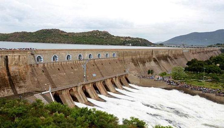 fort,mettur,water,water level,100 feet,3rd time ,கல்லணை, மேட்டூர், தண்ணீர், நீர்மட்டம், 100 அடி, 3வது முறை