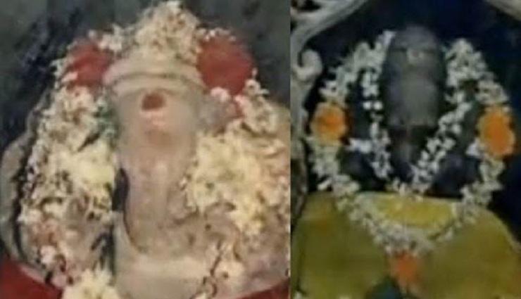 தக்களை அருகே வருடத்திற்கு இருமுறை நிறம் மாறும் அதிசய விநாயகர்