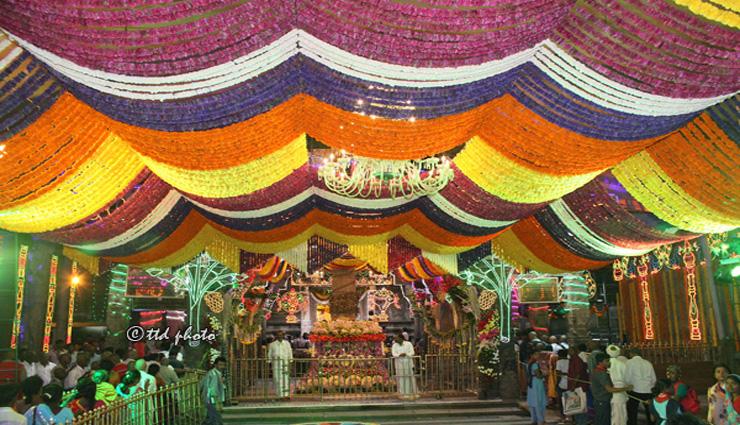 திருப்பதி நவராத்திரி பிரம்மோற்சவத்தில் சுவாமி வீதியுலா ரத்து
