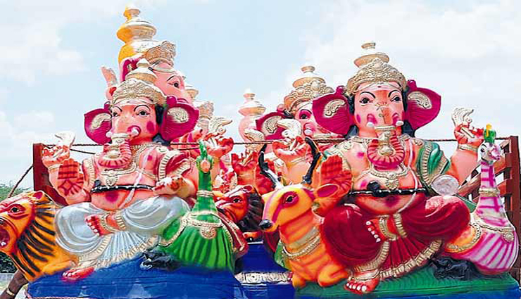 kanchipuram,ganesha statues,heavy surveillance,case ,காஞ்சிபுரம், விநாயகர் சிலைகள், பலத்த கண்காணிப்பு, வழக்குப்பதிவு