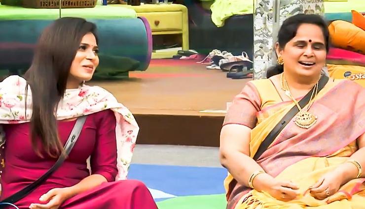 பிக்பாஸ் வீட்டிற்குள் வந்த ரம்யாவின் அம்மா, சகோதரர்