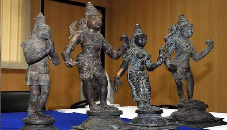 கோவில்களில் திருடப்பட்ட 22 கற்சிலைகள், 17 பஞ்சலோக சிலைகள் அனைத்தும் மிகவும் பழமையானவை என உறுதி