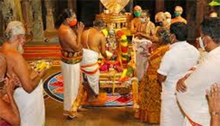 శ్రీవారి రంగనాయకుల మండపంలో  'భాగ్ సవారి' ఉత్సవం