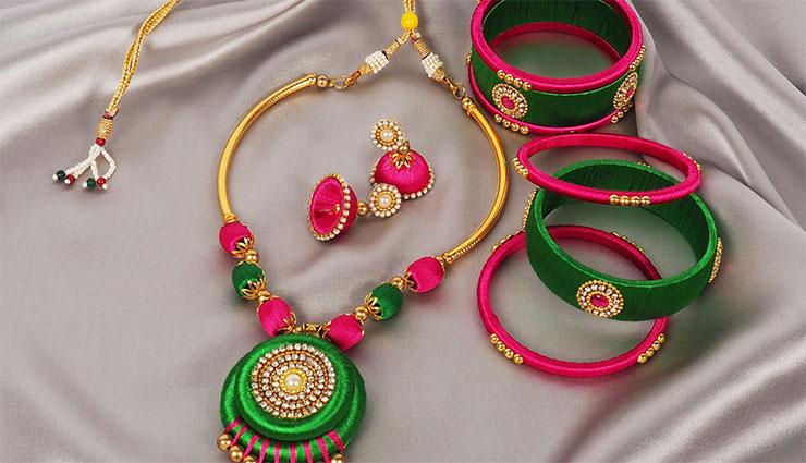 fabric,jewelry,matches,attire,bangles ,వస్త్రధారణకు,  మ్యాచ్, అయ్యే,  ఫ్యాబ్రిక్,  జువెలరీ